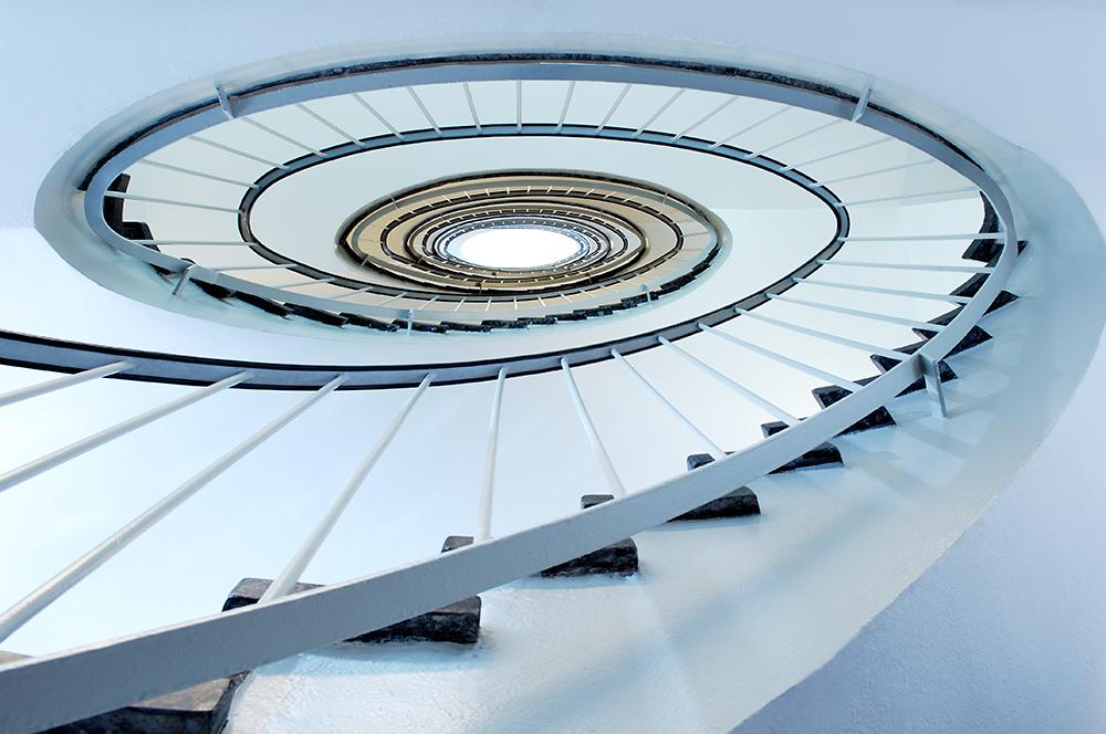 Treppenhaus Düsseldorf / Fotograf Guntmar Fritz Neuss