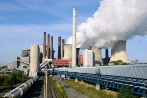 Braunkohle-Kraftwerk