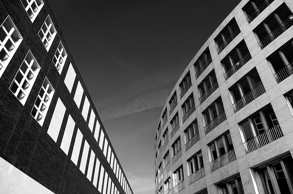 Architektur Duesseldorf by G. Fritz