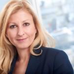 Business-Portrait einer Frau mit langen blonden Haaren/ Fotograf Duesseldorf,Guntmar Fritz