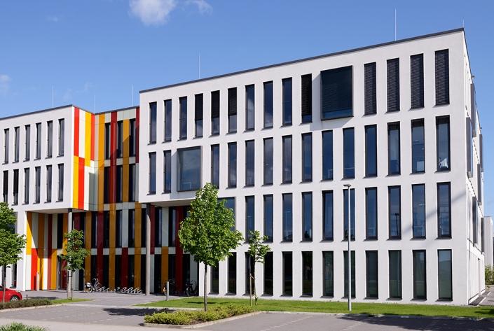 Gewerbepark in Monheim NRW