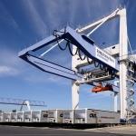 Containerhafen Krefeld, Industriefoto von Guntmar Fritz Neuss